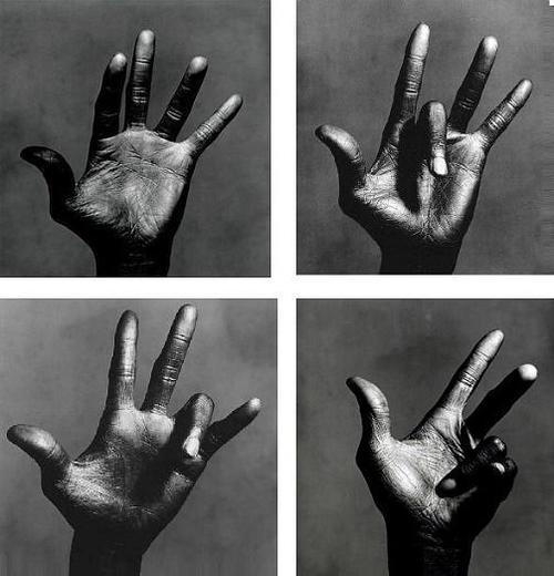 Irving Penn - Miles Davis hand